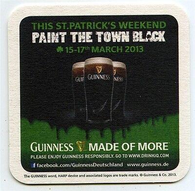Bar Party Theke Tresen 50 Stück Bierdeckel Guinness Darkness Dublin Irland f