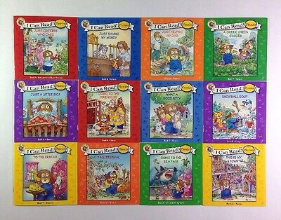Little Critter Childrens Phonics I Can Read Books Early Readers Lot 12 9