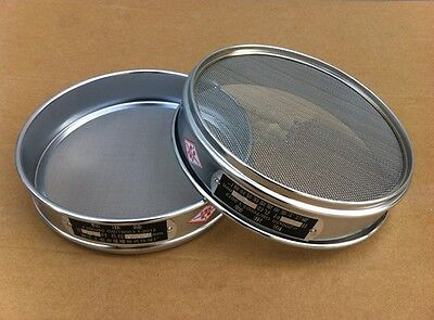 10-200 Mesh 2-0.074mm Aperture Lab Standard Test Sieve Stainless Steel 10-20cm 3