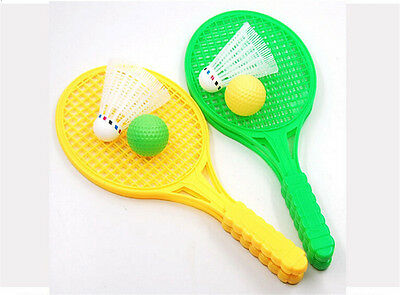 1pair Child Badminton Tennis Racket Baby Sports Bed Toy Educational Toys 。 6