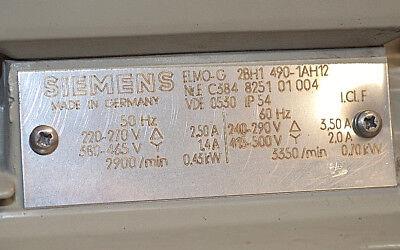 SIEMENS ELMO-G 2BH1490-1AH12 Seitenkanalverdichter 2BH1 490-1AH12 Vakuumpumpe