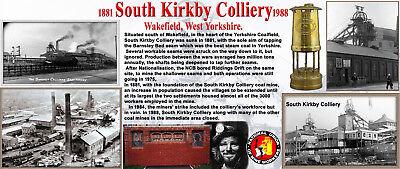 Coal Mining South Kirkby Colliery Pit Pics 1874-1988 Ltd Ed Print