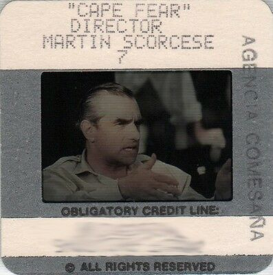 "MARTIN SCORSESE in ""Cape Fear"" - Original 35mm COLOR Slide"