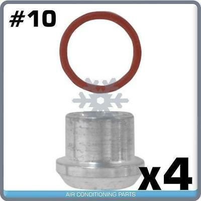 Male Insert Oring To Male Flare A//C Adapter Fitting Kit #10 with Orings