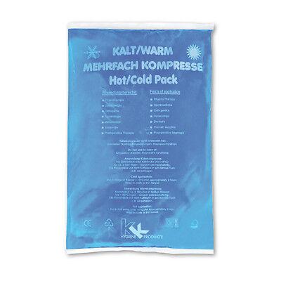 10x KK Kalt-Warm Kompressen 16x26 cm Kühlkissen Kühlkompresse Eis Gelkompresse