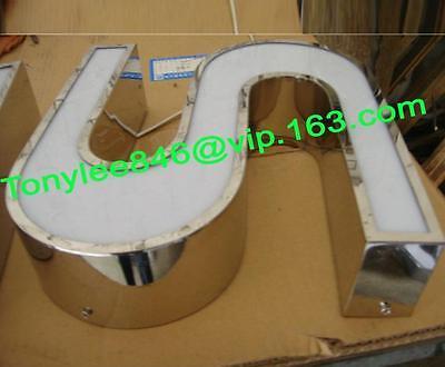 CHANNEL LETTERS metal backlit advertising sign,Neon Sign,led Channel letter sign 4