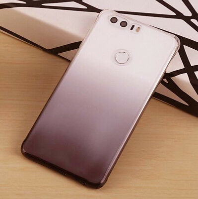 For Huawei Honor 8 Ultra Thin Gradient Color Clear Gel Skin Case Back Cover 7