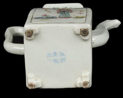 China 19. Siglo Tongzhi Tetera -a Chino Famille Rosa Tetera - Chinois Cinese 11