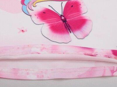 Unicorn Butterfly Girls Kids Pyjamas Nighties Night Wear Party Dress 7