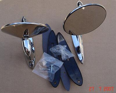 Hot Rod Kit Car Classic Astrali Longbase Door Wing Mirror PAIR