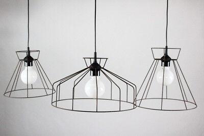 Käfig Ghost Lampe Skelett Draht Gitter Leuchte Shabby Lamp vintage