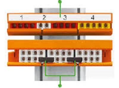 Borne de connexion automatique 2/3/4/5/8 entrée Wago réf 2273 & Support 2273-500 4