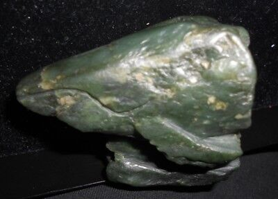 NEPHRITE JADE EAGLE and WHALE*Big Sur California*Two Carvings on One Piece Jade 2