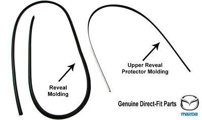 Genuine Direct-Fit Front Windshield Molding Trim 1990-2005 Mazda MX-5 Miata