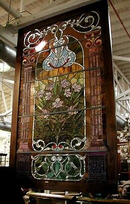 Pair of Stained Glass Windows 19th Century  John LaFarge  #4454B 5