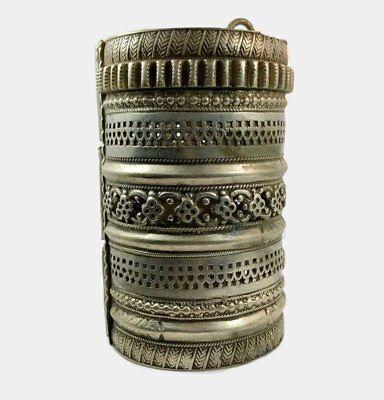Kuchi Bracelet, Massive, Vintage Bracelet, Afghan, Wide, Vintage Gypsy, Old Pati 4
