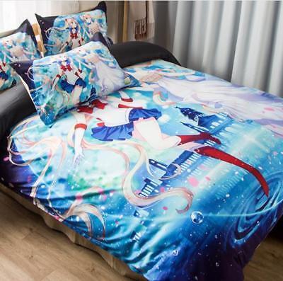 Sailor Moon Tsukino Usagi 3tlg4tlg Bettwäschegarnituren Kindermöbel