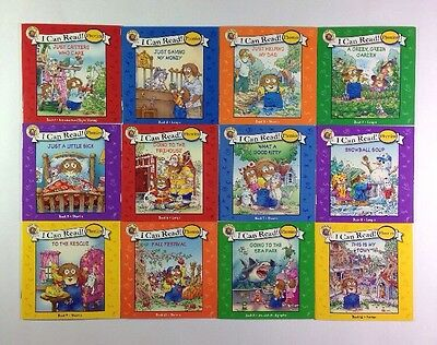 Little Critter Childrens Phonics I Can Read Books Early Readers Lot 12 12