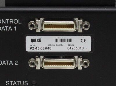 1pcs Used DALSA P2-43-08K40 line scan camera 2