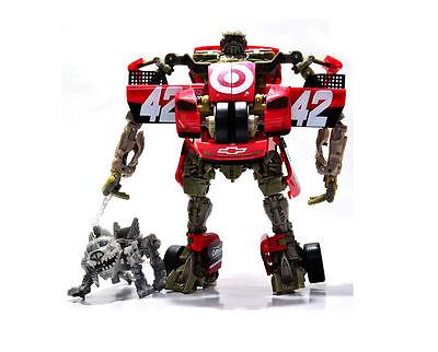3 of 4 transformers dotm mechteh leadfoot sergeant detour steeljaw robot car toy gift