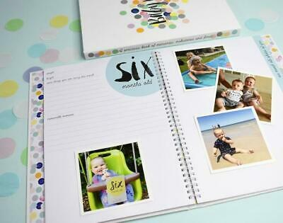 NEW Rhicreative Special Edition Baby Book Gift Keepsake Photo Memories & Firsts 6