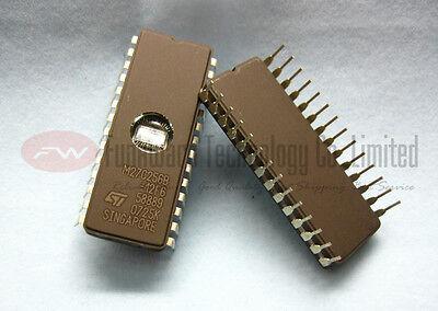 ST Microelectronics M27C256B-12F6 UV-Erasable EPROM 256K 120ns 28-pin 32Kx8