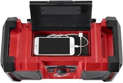 Milwaukee Cordless Jobsite Radio M18 Lithium-Ion Digital AM FM Tuner Audio New 5