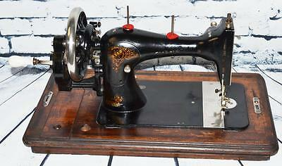 Rare Stoewer VS Victorian Decal #806333 Hand Crank Sewing Machine [PL2153] 2 • EUR 322,17