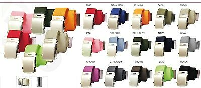 Military Style Canvas Web Belt - BUY 2 GET 1 FREE, JUST ADD THE 3 BELTS TO CART 5