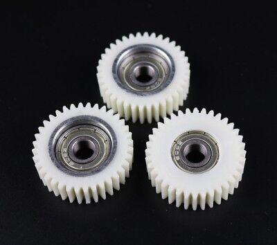 Ersatzzahnräder,30Zähne,12mm lagerbohrung,48mm Außendurchmesser+Seegerringe 12mm
