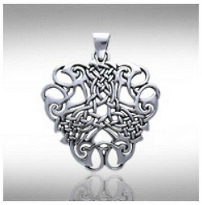 """Sterling Silver Celtic/Druid """"Thread Of Life"""" Pendant/Necklace 2"""