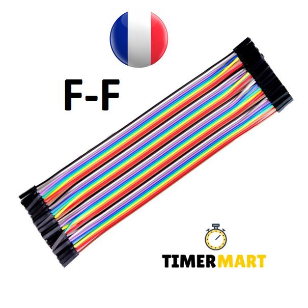 Kabel Dupont 20 CM Jumper Kabel Linie Set Pi Arduino Lochraster M W F M