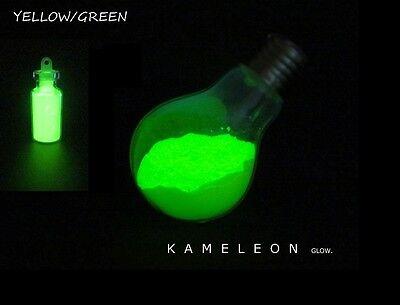 Glow in the Dark Powder (Yellow - Green) 4