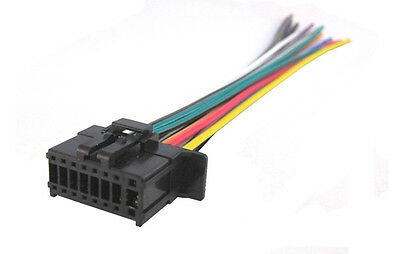 NEW 16 PIN WIRE PLUG HARNESS for PIONEER DEH-X8700BH DEH-X8700BS