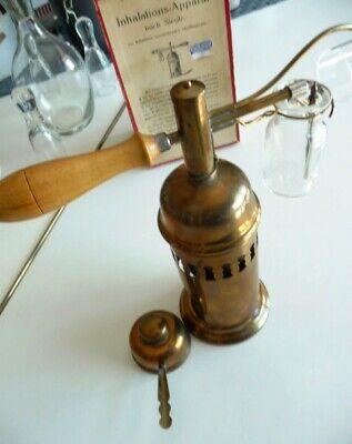 Museales antikes Inhaliergerät,Inhalier-Apparat nach Siegle,ca.1875-1890,selten 2