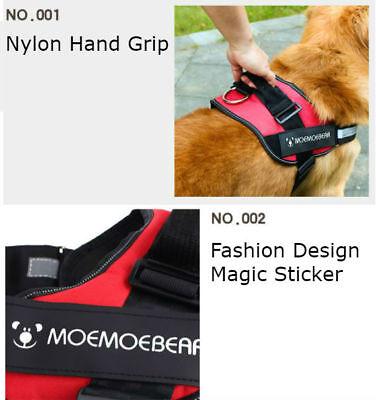 Pet Puppy Dog Cat Soft MESH VEST LEASH Harness Breathe Adjustable Braces Clothes 2