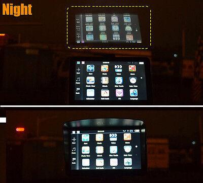 "Sun Shade Anti Glare Visor For 4.3"" 5"" 7"" Inch Gps Sat Nav Screen Shield Frame 3"