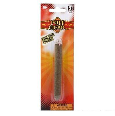 Fake Puff Cigar - Blow Fake Smoke & Make Non-Smoker's Blood Boil Gag Joke Prank 2