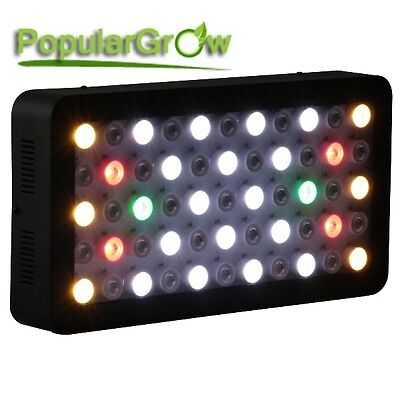 PopularGrow Wifi 3 Channel Dimmable165W LED Aquarium Light Fish Tank Reef Coral 2