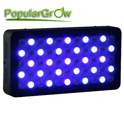 165W Dimmable LED Aquarium Light Full Spectrum Fish Tank Reef Coral grow LPS SPS 3
