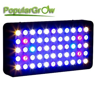 165W Dimmable LED Aquarium Light Full Spectrum Fish Tank Reef Coral grow LPS SPS