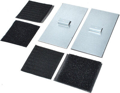 PANEL HANGING PLATE MW SELF ADHESIVE 100mm x 50mm PICTURE MIRROR HANGER TILES 2