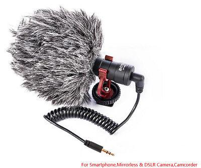 BOYA BY-MM1 Cardioid Shotgun Microphone MIC for DSLR Camera Smartphone Camcorder 7