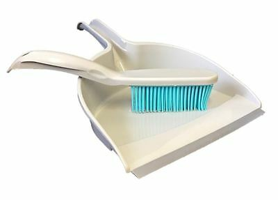 Pet Hair Remover Dustpan And Rubber Hand Brush Dog Cat