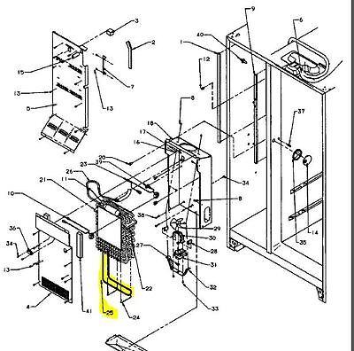 10428406 Genuine Whirlpool / Amana Defrost Heater