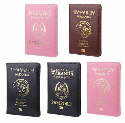 Marvel Wakanda Passport Cover Asgard Passport Case Passport Black Panther Passpo