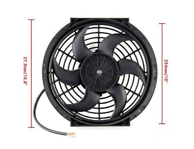 """ACP 12/"""" Universal Pull Radiator Cooling Fan Straight Blades Replacement Unit"""