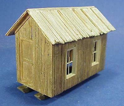 O//On3//On30 WISEMAN MODEL SERVICES LOGGING OR MINING CAMP CABIN STYLE 2 KIT