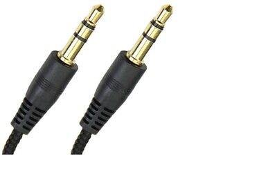 Câble Prise Jack 3.5mm Male/Male Stéréo pour Smartphone Casque Auto 1/1.5/2/3m 3