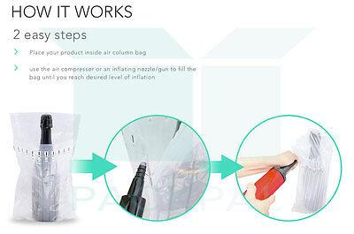Column Air inflatable packaging bag X 10 (5columns) 22cm*6cm 2